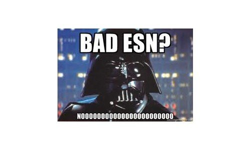 """What does 'Bad ESN"""" mean? What does """"Blacklisted"""" mean?"""